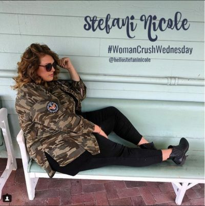 Woman Crush Wednesday: Stefani Nicole – How to sit in photos